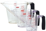 OXO Good Grips 3pc Angled Measuring Cupst 1, 2 & 4 Cup Sizes