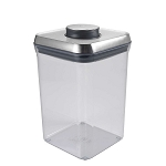 OXO Good Grips Stainless Steel 4 Qts Big Square POP Container