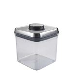OXO Good Grips Stainless Steel 2.4 Qts Big Square POP Container