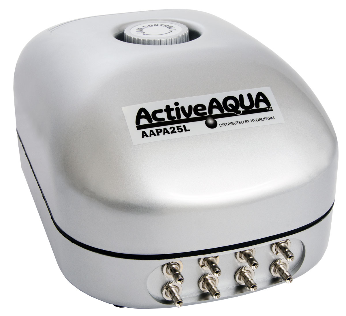 Active Aqua Air Pump, 8 Outlets, 12W, 25 L/min