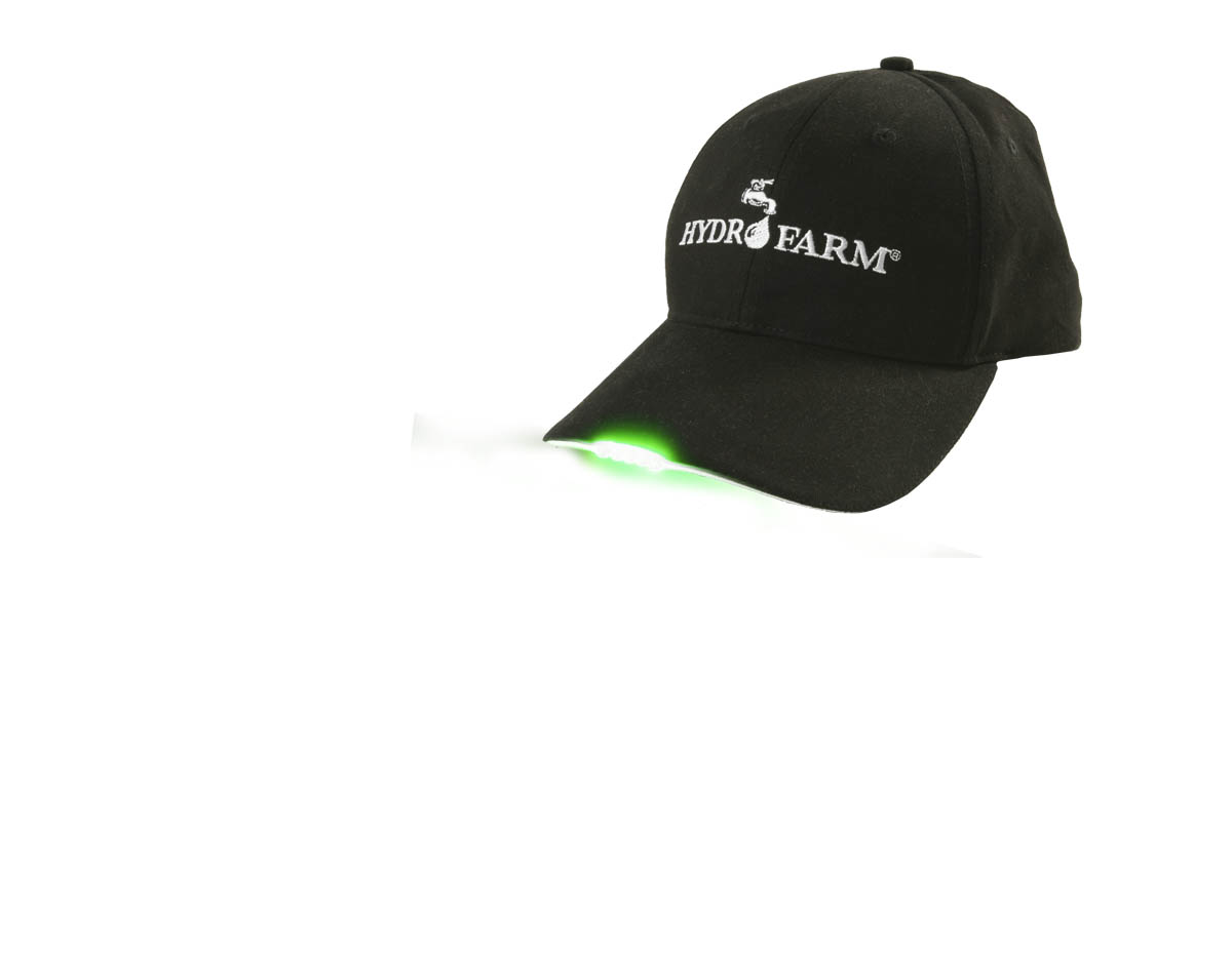 Hydrofarm Logo LED Hat