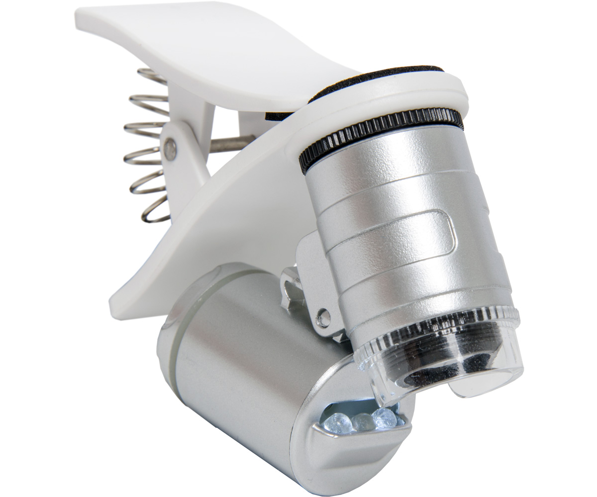 Active Eye Universal Phone Microscope - 60x - W/ clamp