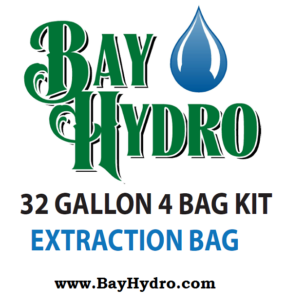 Bay Hydro 32 Gallon 4 Bag Kit - Bubble ICE Extraction Bags