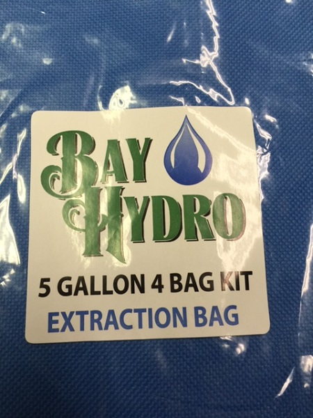 Bay Hydro 5 Gallon 4 Bag Kit - Bubble ICE Extraction Bags