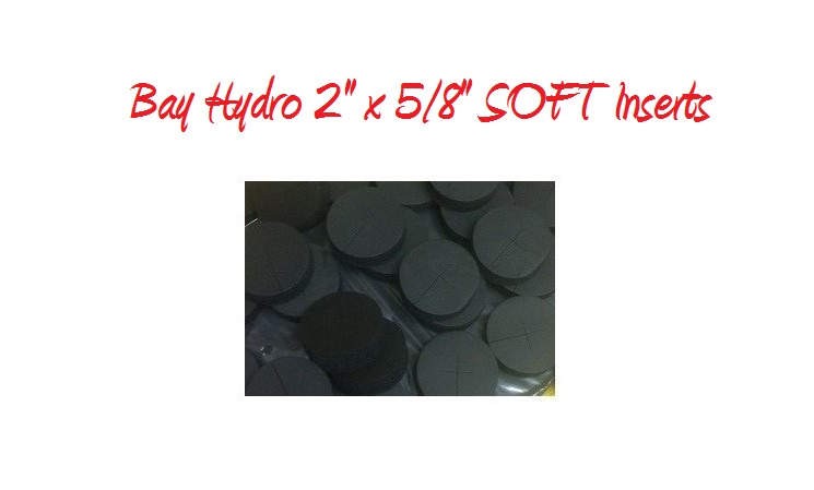 Bay Hydro 2 X 5/8 SOFT Neoprene Inserts 32pc