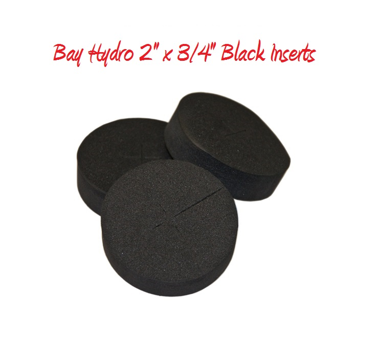 Bay Hydro 2 X 3/4 FIRM Neoprene Inserts 33pc