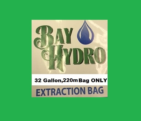 Bay Hydro 32 Gallon 220m Bag ONLY - Bubble ICE Extraction Bags