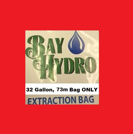 Bay Hydro 32 Gallon 73m Bag ONLY - Bubble ICE Extraction Bags