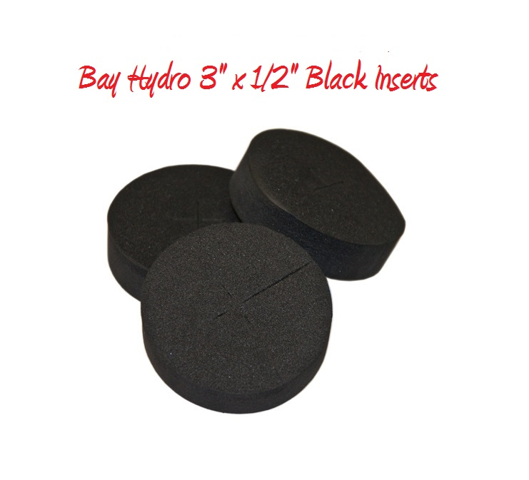 Bay Hydro 3 X 1/2 FIRM Neoprene Inserts 25pc