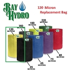 Bay Hydro 5 Gallon 120m Bag ONLY - Bubble ICE Extraction Bag