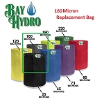 Bay Hydro 5 Gallon 160m Bag ONLY - Bubble ICE Extraction Bag