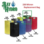 Bay Hydro 5 Gallon 220m Bag ONLY - Bubble ICE Extraction Bag