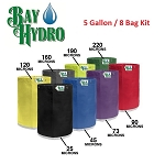 Bay Hydro 5 Gallon 8 Bag Kit - Bubble ICE Extraction Bags