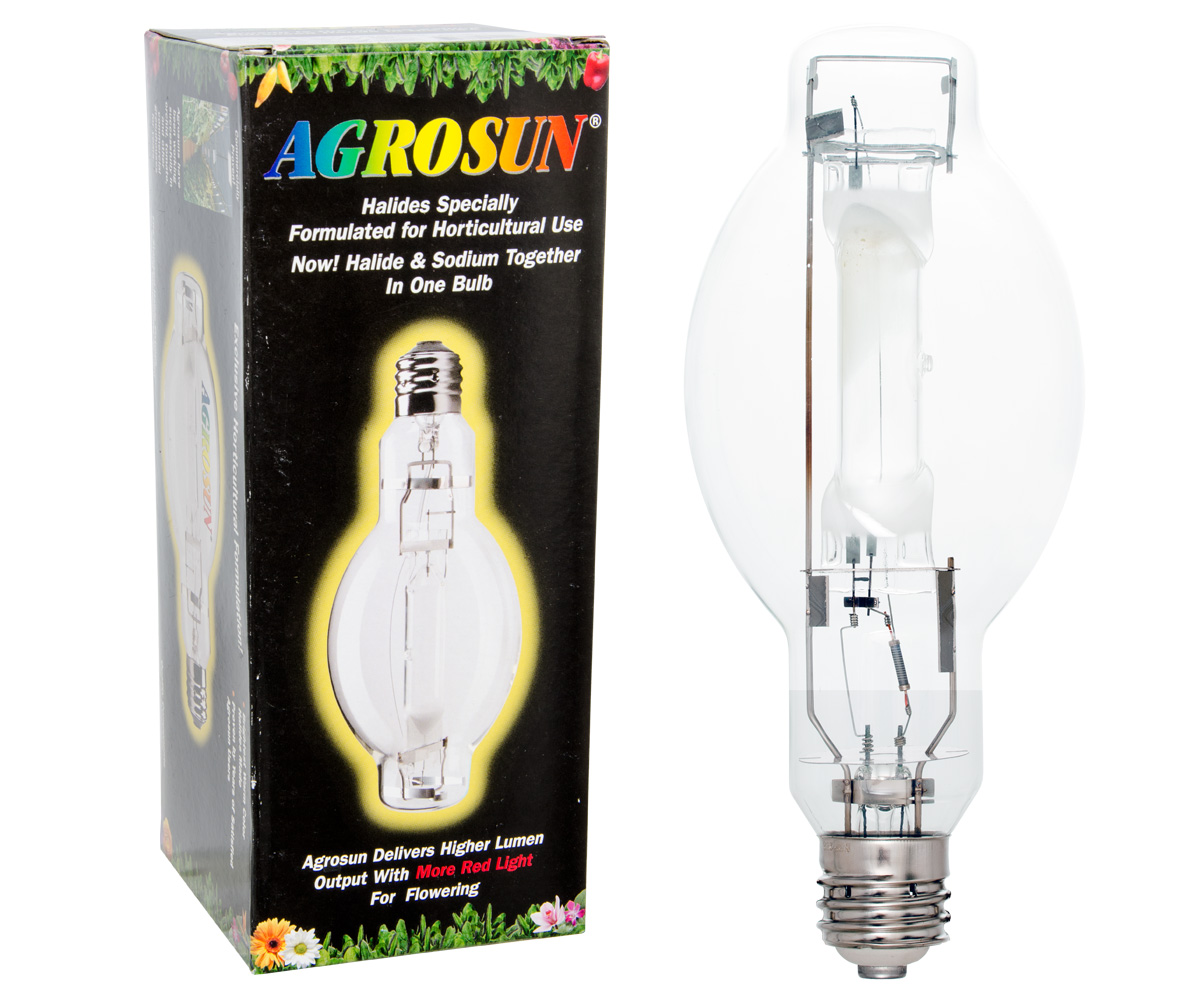 Agrosun Gold Halide (MH) HO Lamp 1000W Horizontal