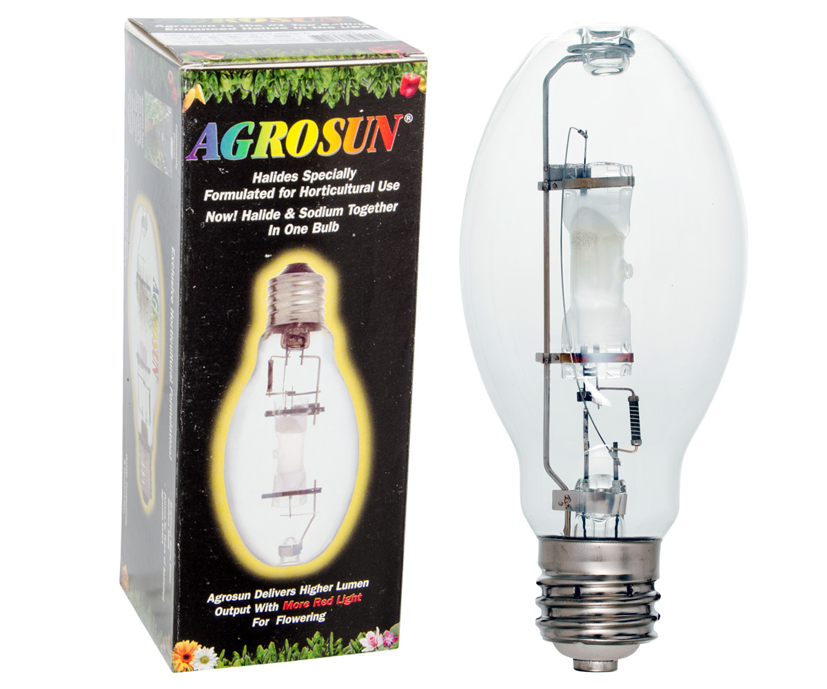 Agrosun Gold Halide (MH) HO Lamp 250W Horizontal