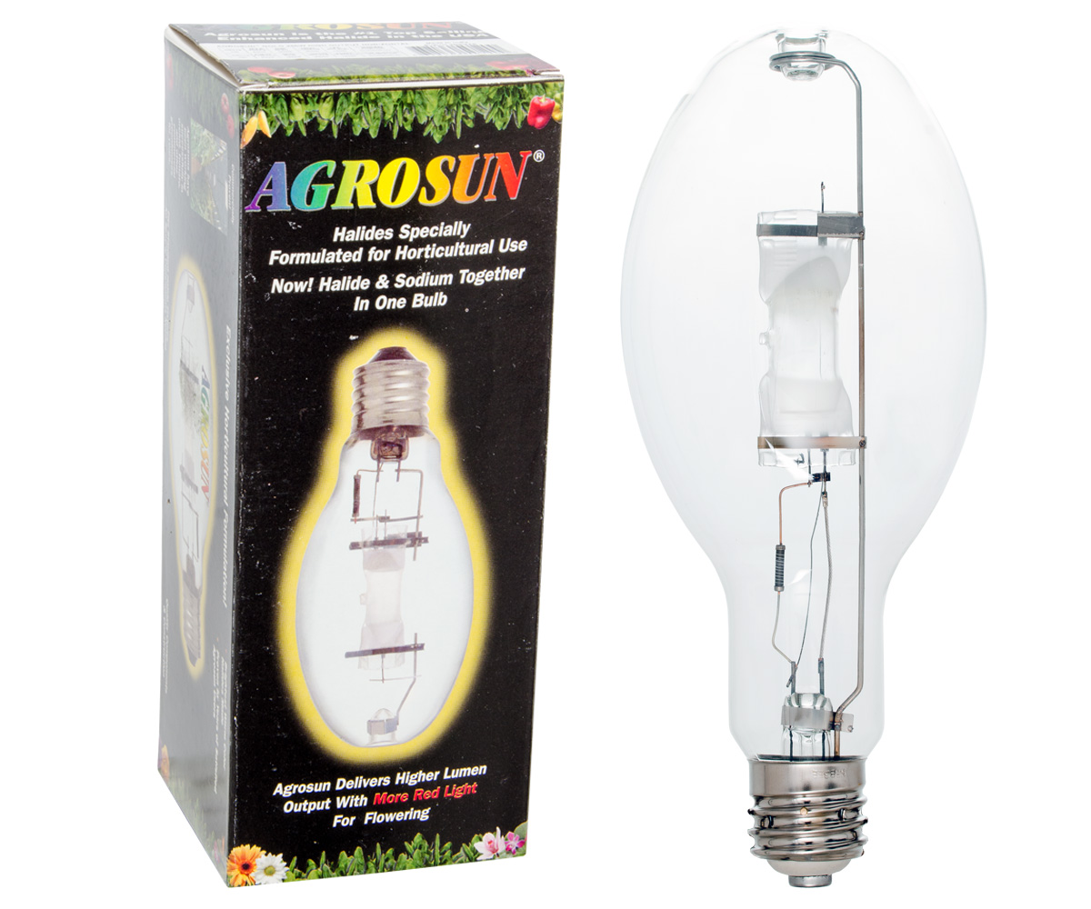 Agrosun Gold Halide (MH) HO Lamp 400W Horizontal