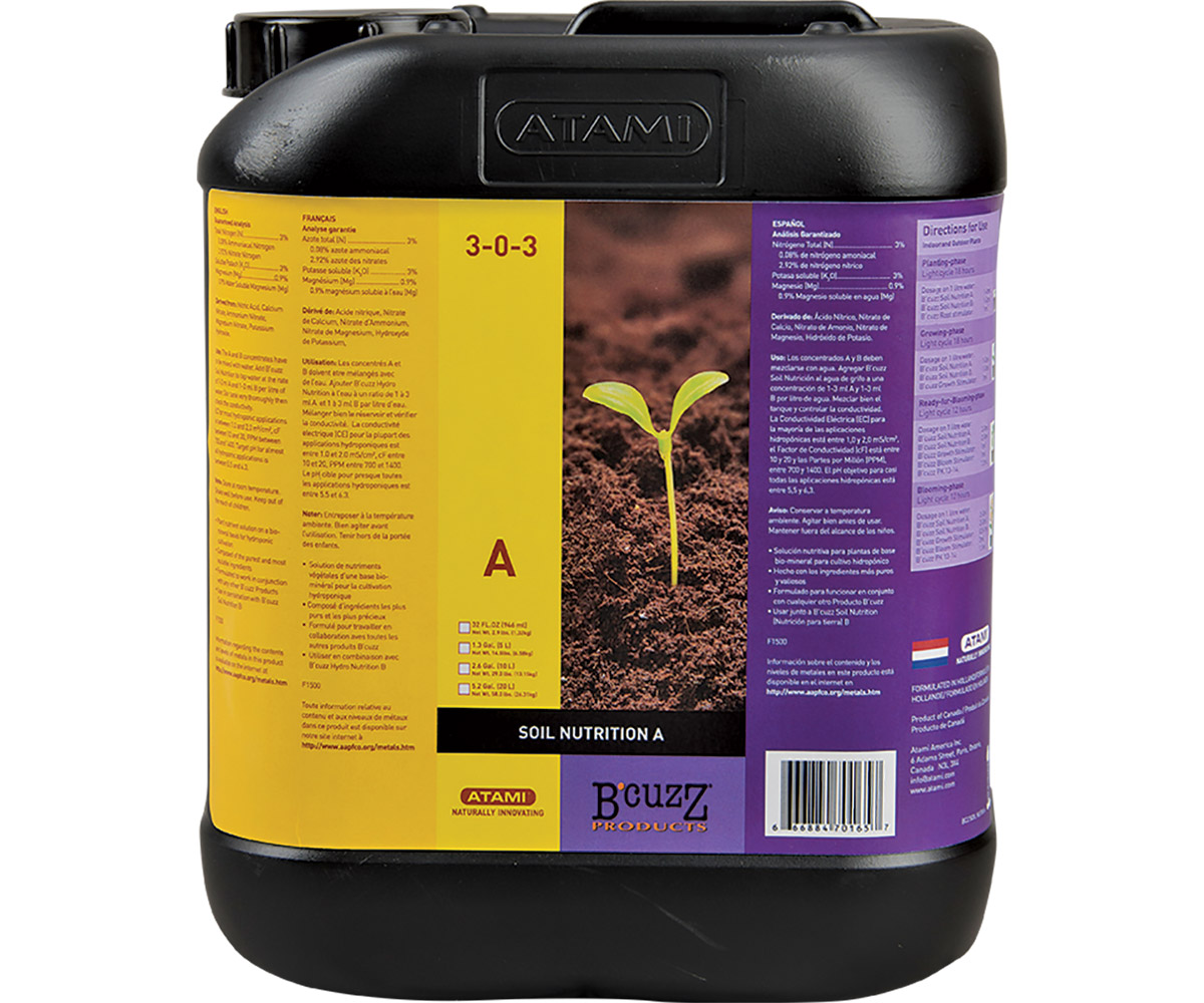 B'Cuzz Hydro Nutrition Component A 10 L