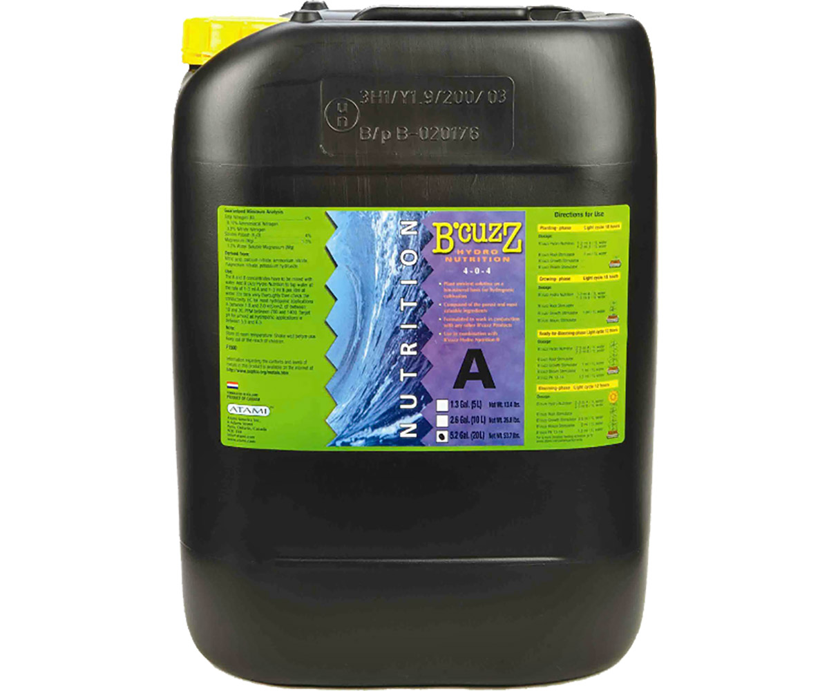 B'Cuzz Hydro Nutrition Component A 20 L