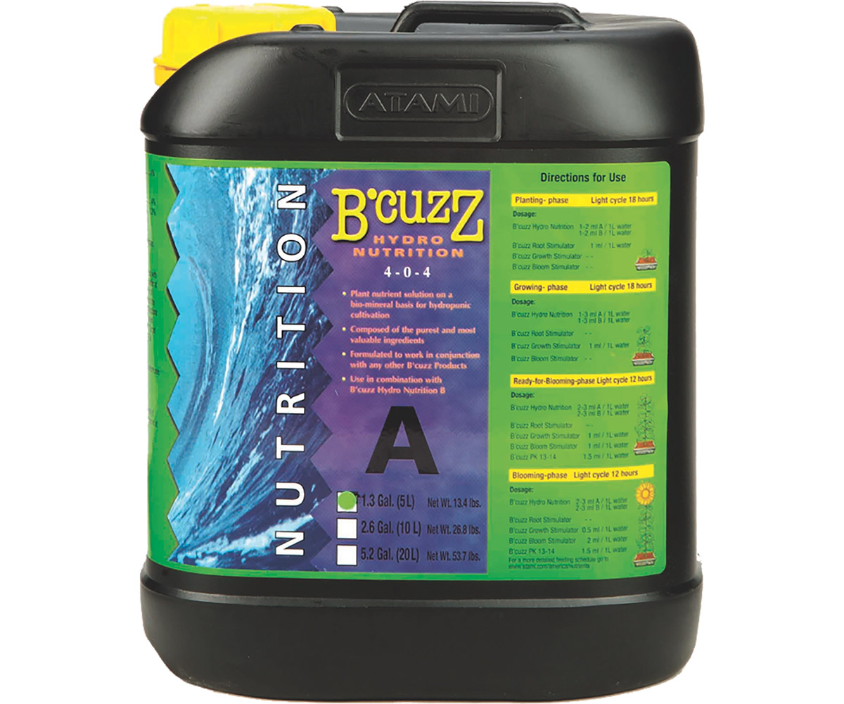 B'Cuzz Hydro Nutrition Component A 5 L
