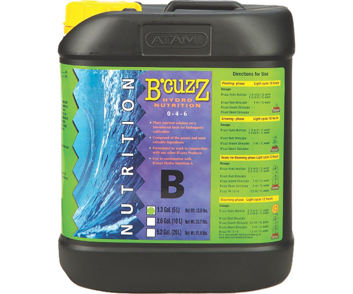 B'Cuzz Hydro Nutrition Component B 5 L