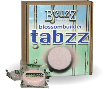 B'Cuzz Blossom Builder Tabzz - box of 18 Tabzz