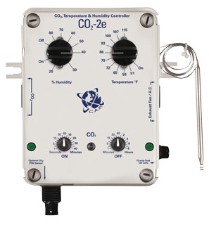 C.A.P. CO2-2e CO2 Temperature & Humidity Controller W/ ppm option