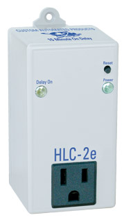 C.A.P. HID Lighting Controller, Delay On Timer, 15 Min On Delay, 15-Amp@120vac