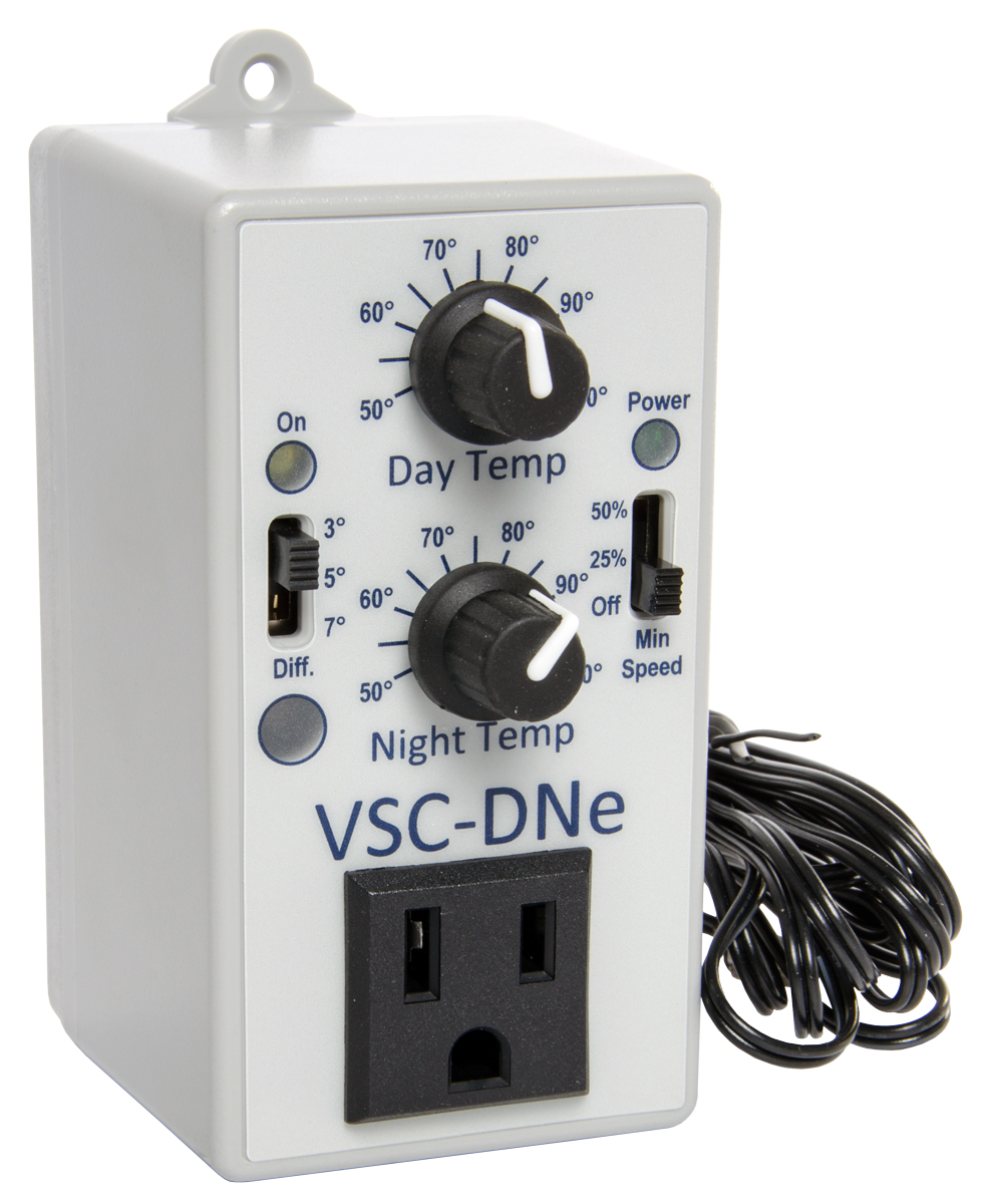 C.A.P. VSC-DNe Day/Night Adjustable Fan Speed Controller