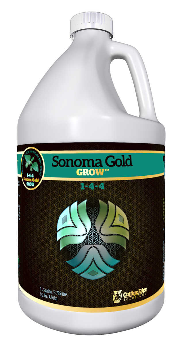 Cutting Edge Solutions Sonoma Gold Grow 1 Gallon
