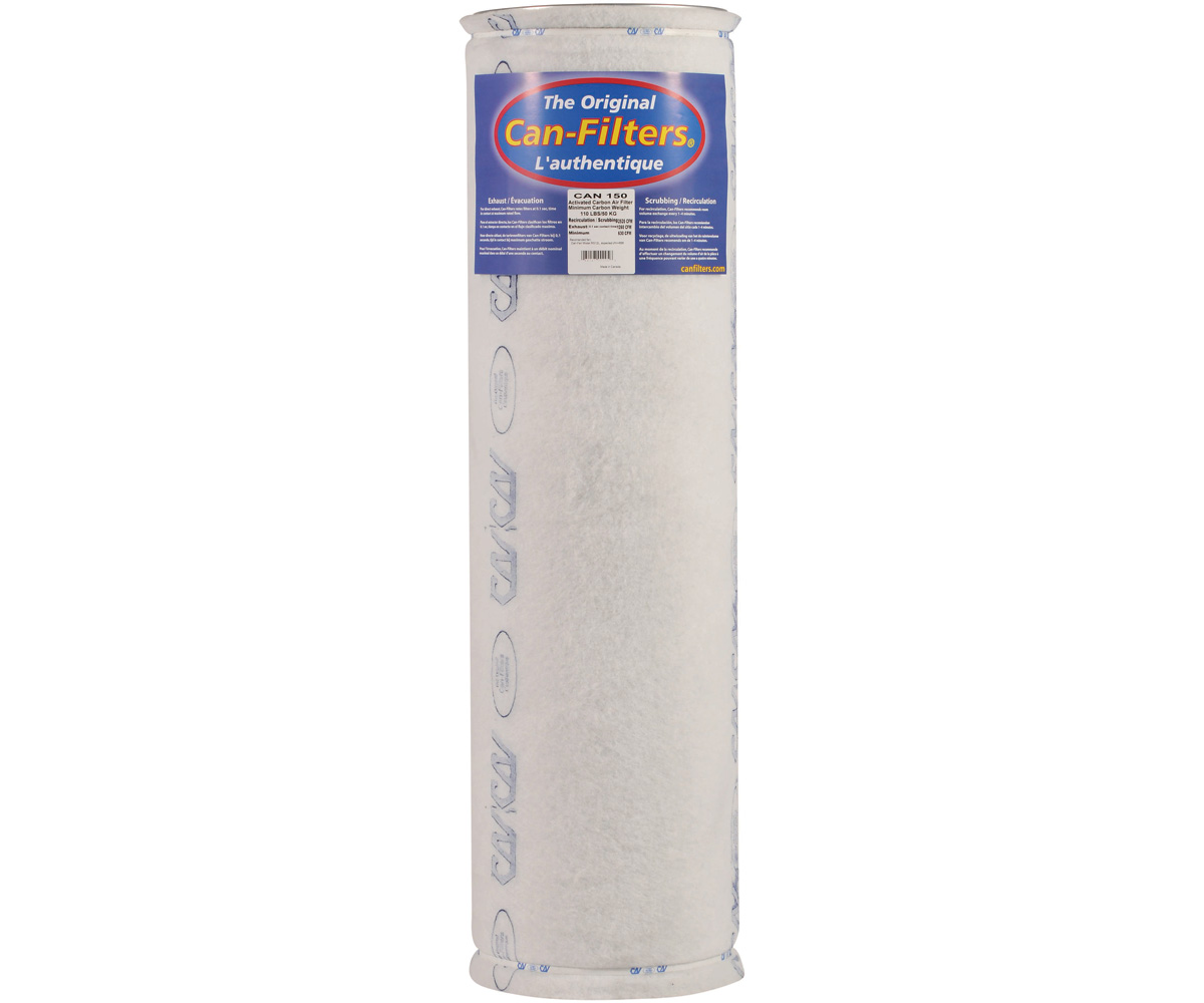 Can 150 Activated Carbon Air Filter - No Flange