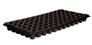 HydroFarm Heavy Duty 72-Cell Pack Square Plug Flat Insert