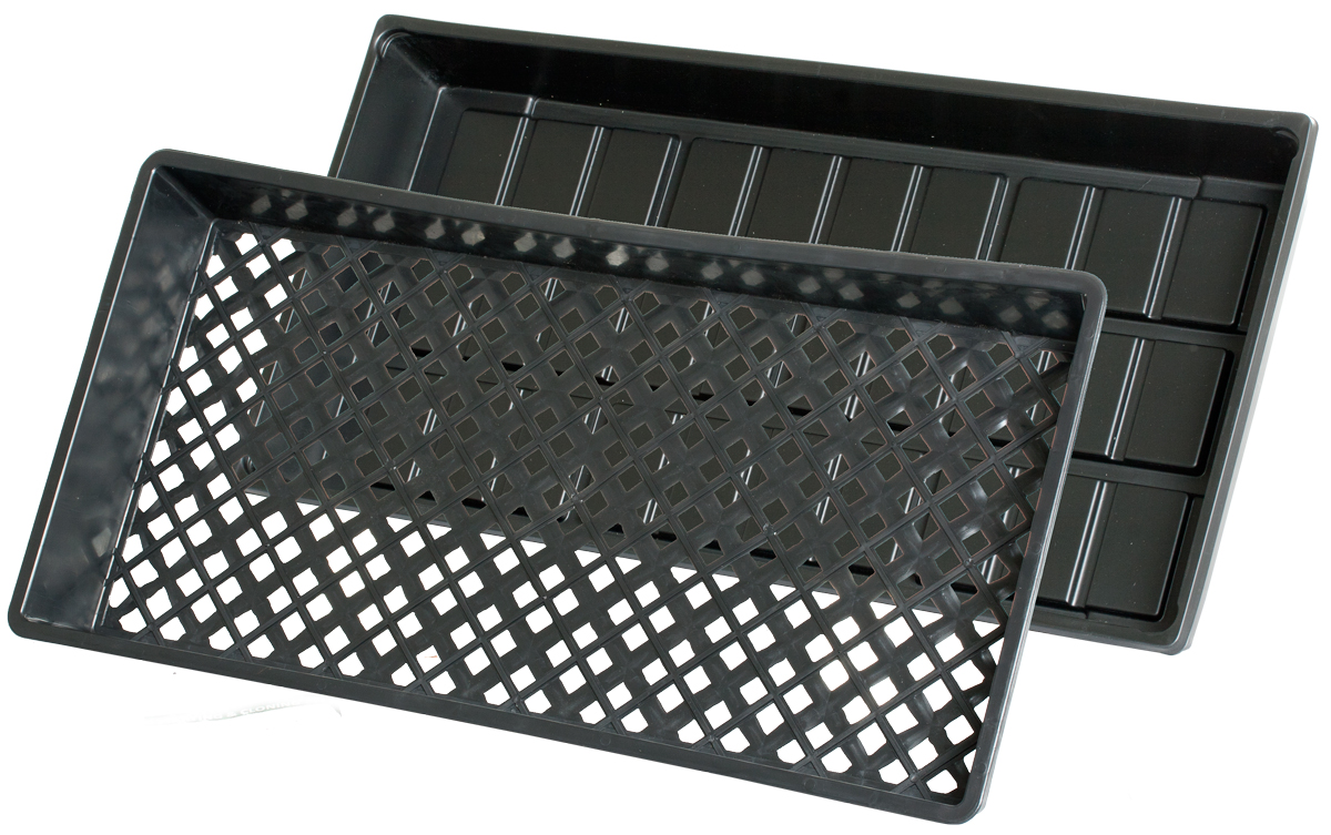 HydroFarm Cut Kit Tray - 10 x 20 - W/ Mesh Tray - Case of 50
