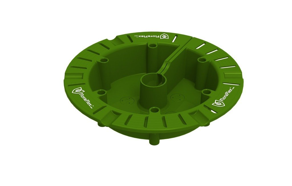 FloraFlex Round Flood and Drip Shield plus Quicker Dripper