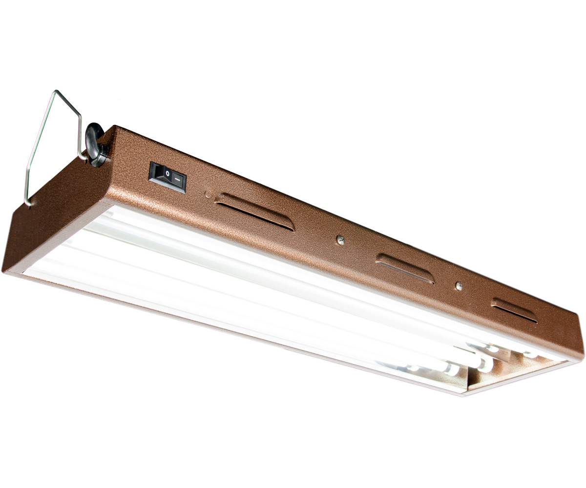 Agrobrite Designer T5 48W 2 Foot 2 - Tube Fixture W/ Lamps