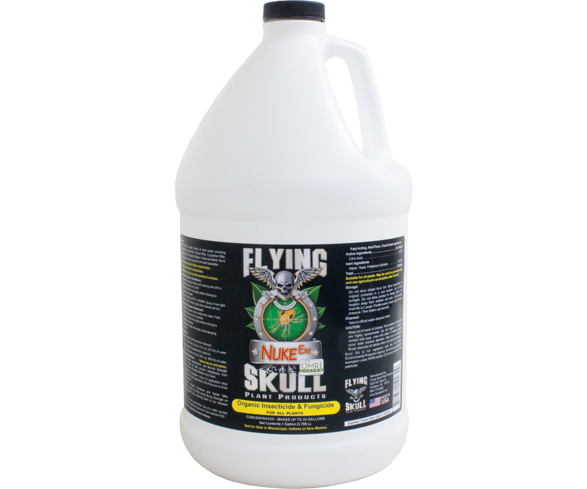 Flying Skull Nuke Em 1 Gallon
