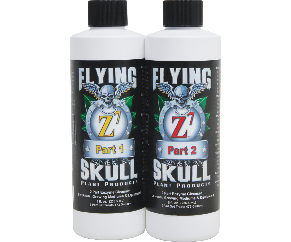 Flying Skull Z7 Enzyme Cleanser 8oz (part 1 & 2)
