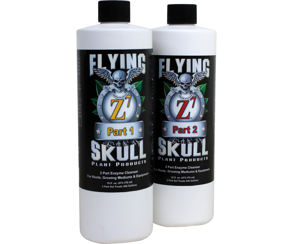 Flying Skull Z7 Enzyme Cleanser 16oz (part 1 & 2)