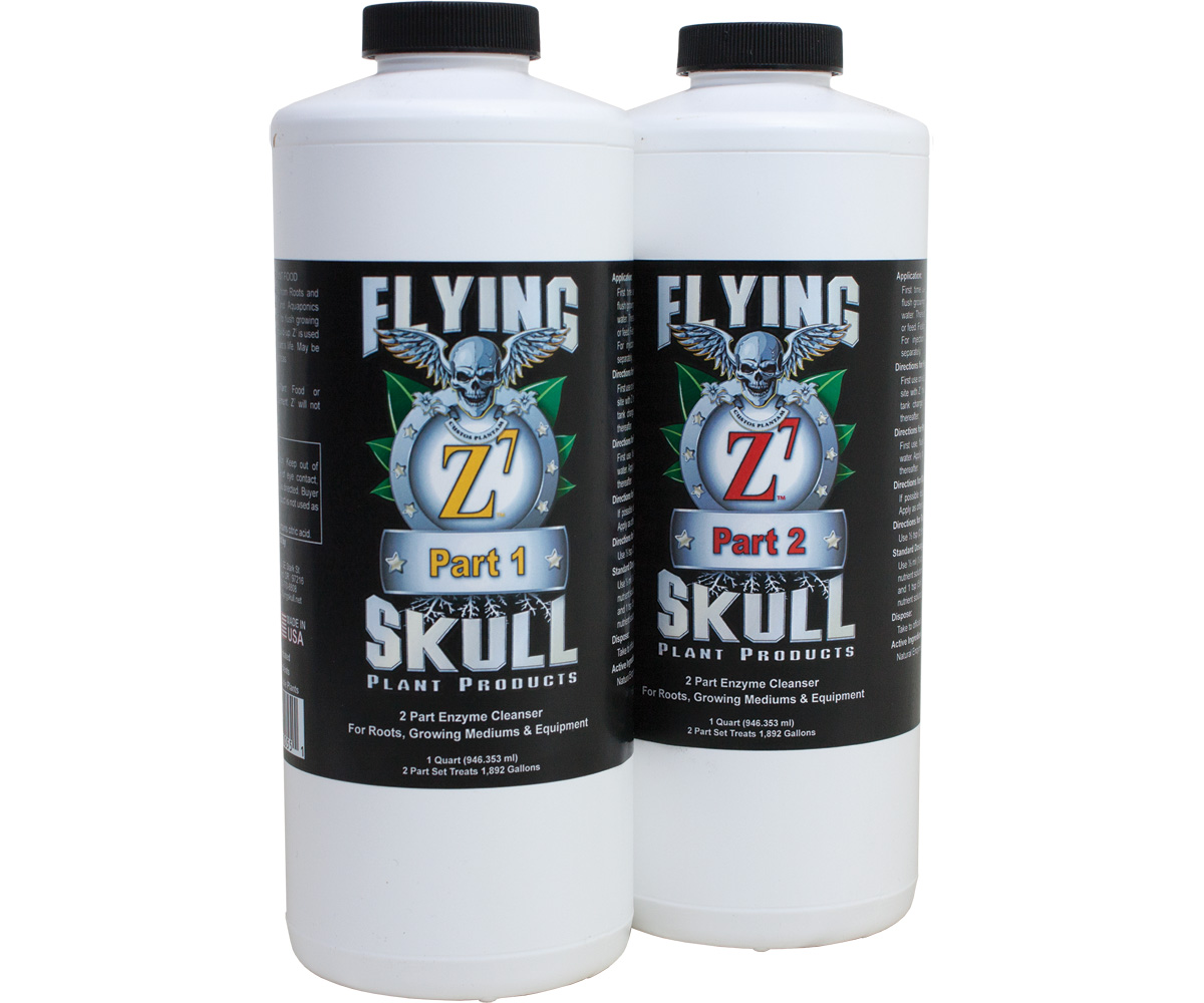 Flying Skull Z7 Enzyme Cleanser 1 Quart (part 1 & 2)