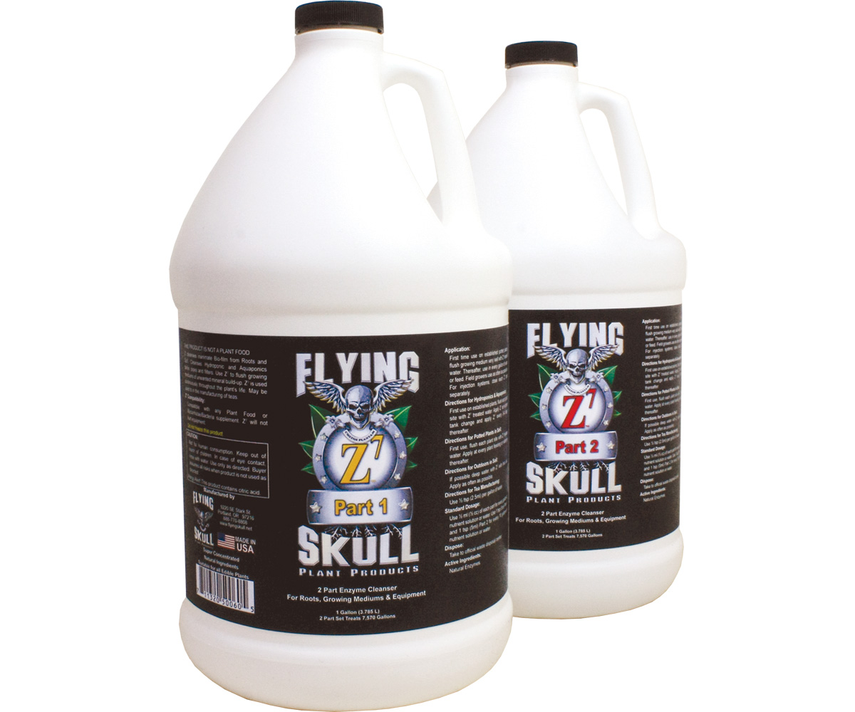 Flying Skull Z7 Enzyme Cleanser 1 Gallon (part 1 & 2)