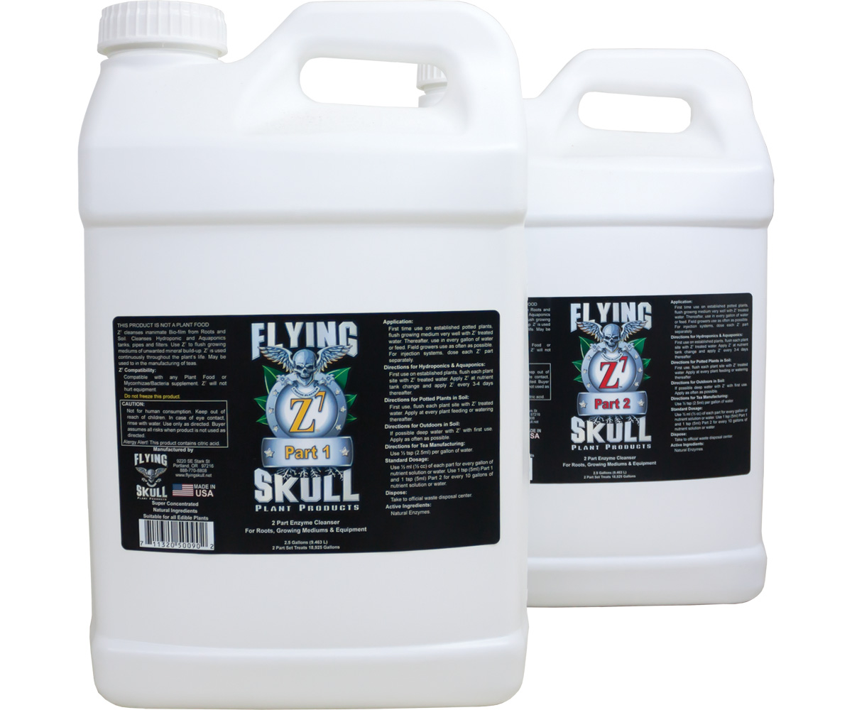 Flying Skull Z7 Enzyme Cleanser 2.5 Gallon (part 1 & 2)