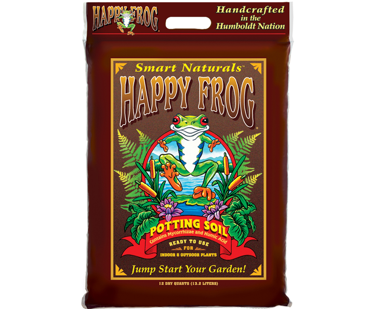 FoxFarm Happy Frog Potting Soil - 12 Quart
