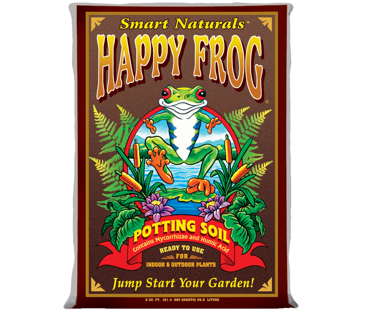 FoxFarm Happy Frog Potting Soil - 2 Cubic Foot (FL/MO/IN/GA ONLY)