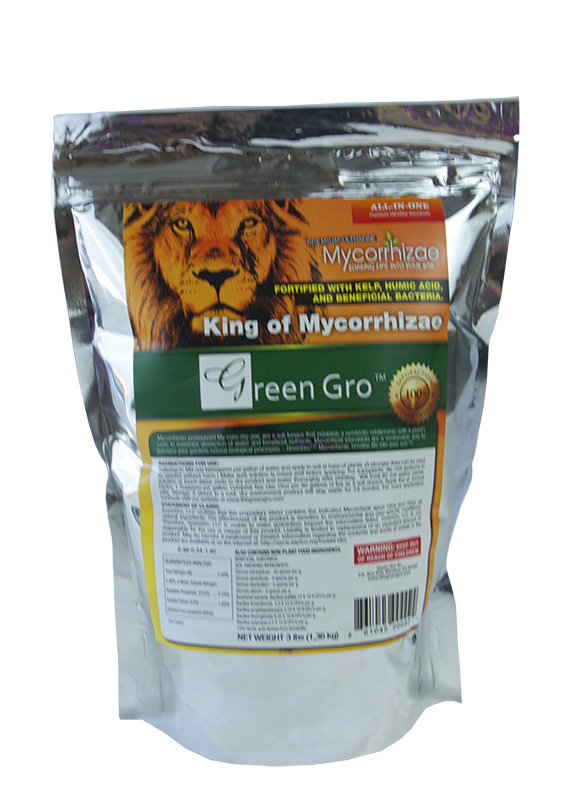 Green Gro Ultrafine Mycorrhizae All-in-One 3 LBS