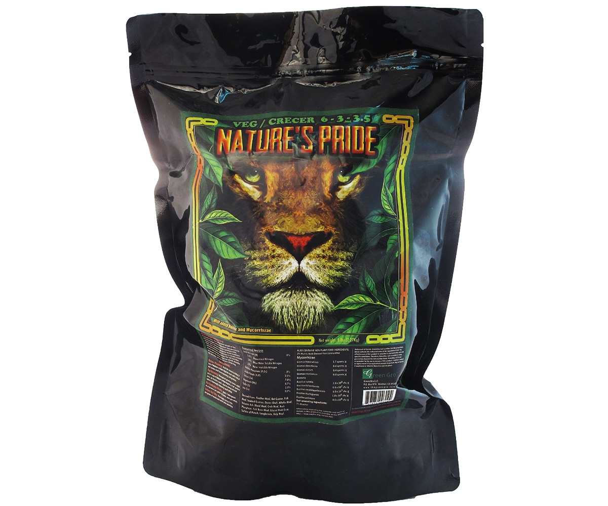 GreenGro Nature's Pride Veg Fertilizer 10 LBS