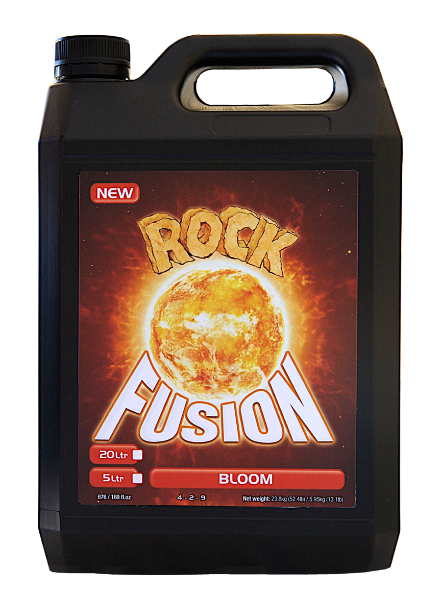 Rock Nutrients Fusion Bloom Base Nutrient 5 L