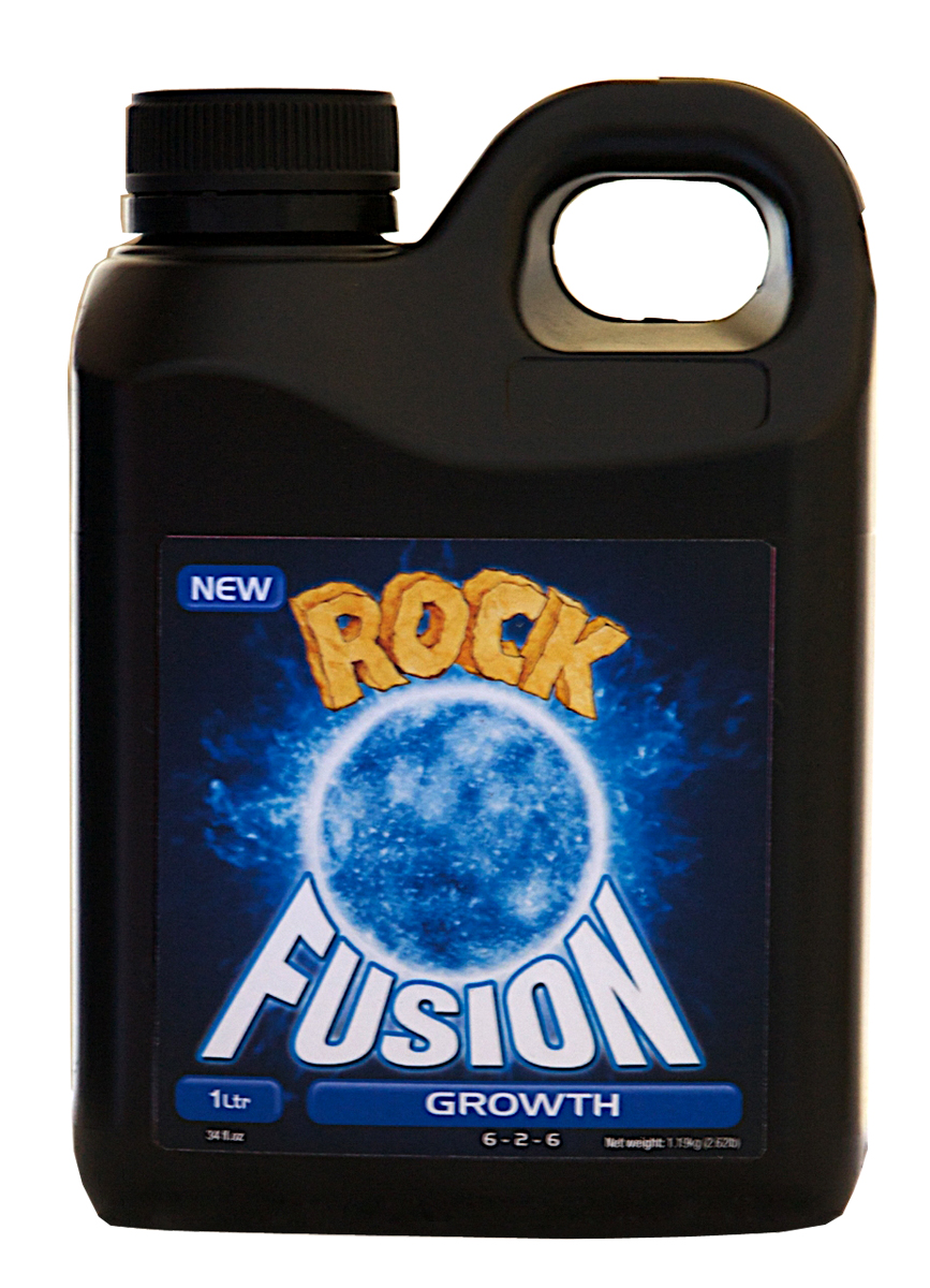 Rock Nutrients Fusion Grow Base Nutrient 1 L