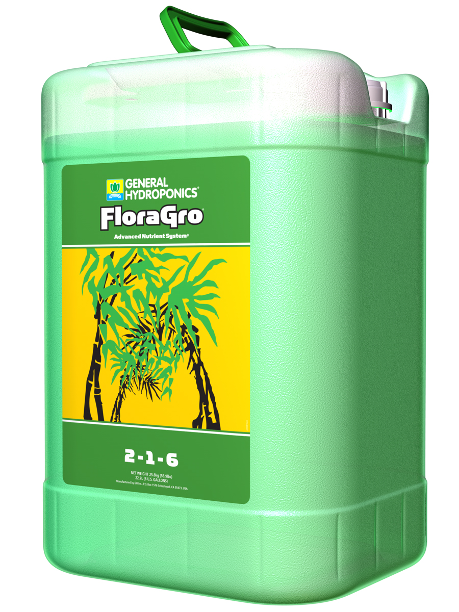 General Hydroponics FloraGro 6 GALLON