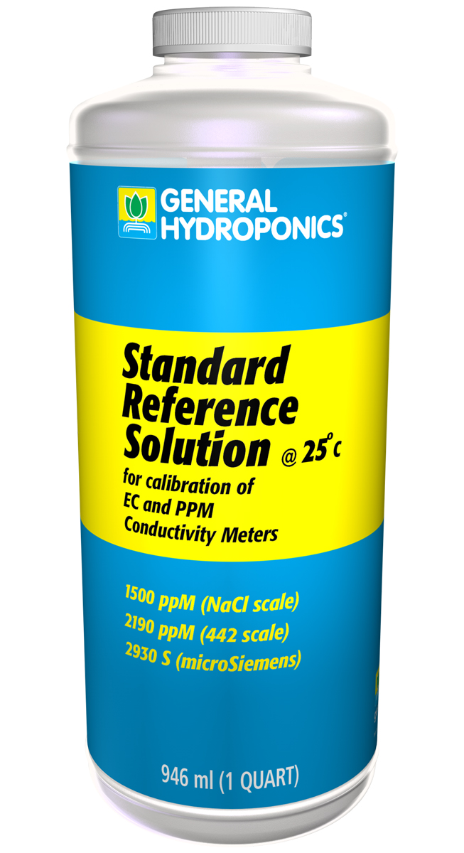 General Hydroponics 1500 ppm Calibration Solution 1 QUART