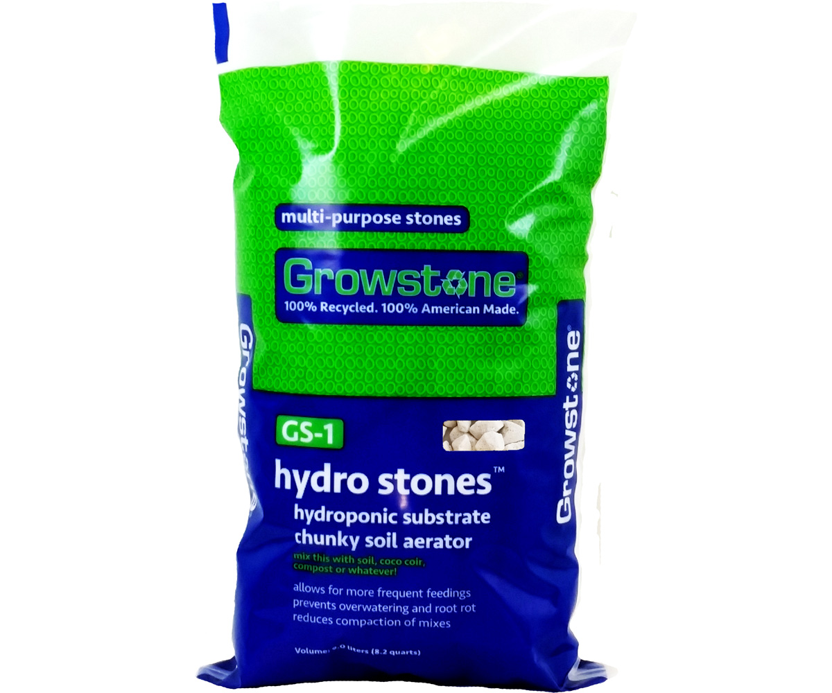 Growstone GS-1 Hydro Stones Hydroponic Substrate, 9 L