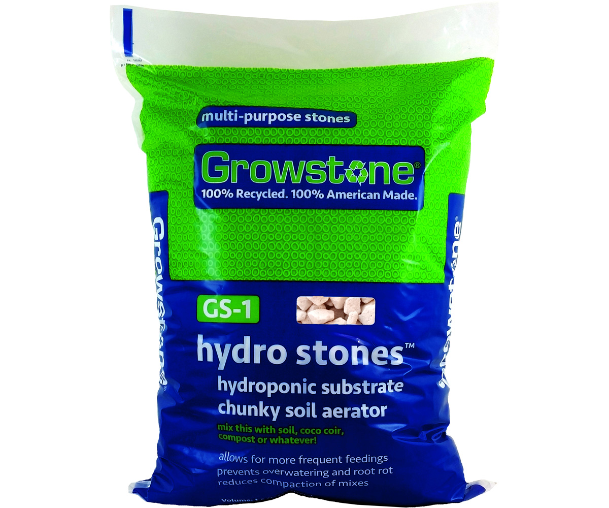 Growstone GS-1 Hydro Stones Hydroponic Substrate, 1.5 CUFT